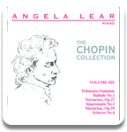Angela Lear - The Chopin Collection Volume 6