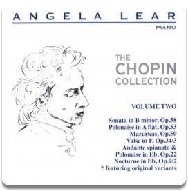 Angela Lear - The Chopin Collection Volume 2